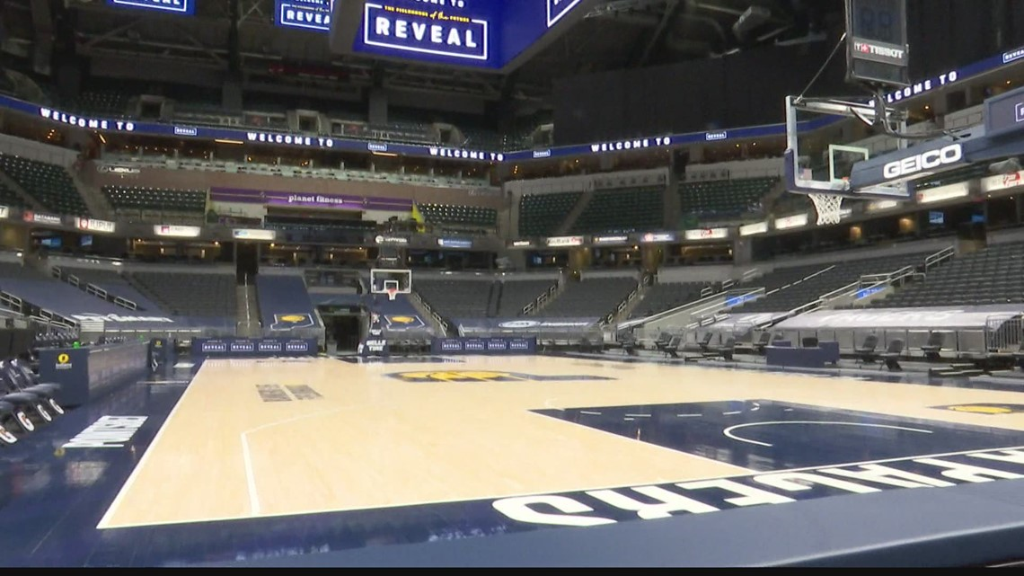 Bankers Life Fieldhouse renovations underway