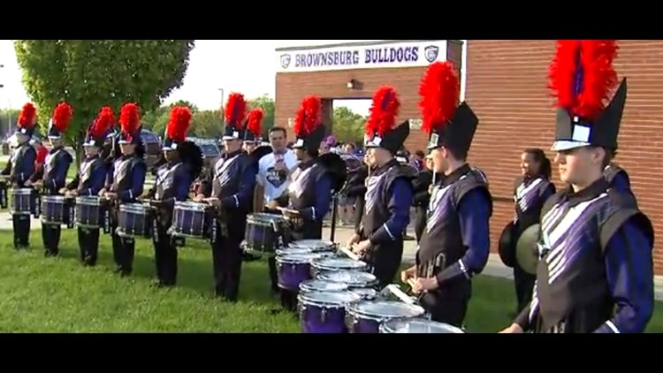 Operation Football Band of the Week: Brownsburg