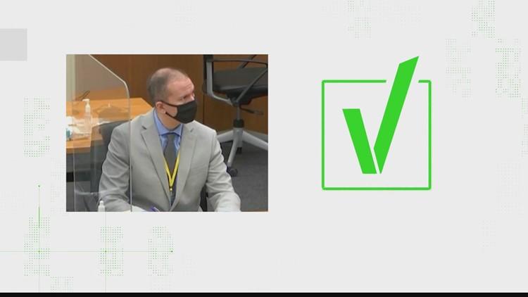 VERIFY: Can Derek Chauvin still testify in his trial?