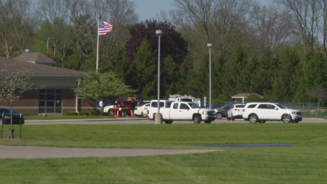 Person shot outside northeast Indianapolis school