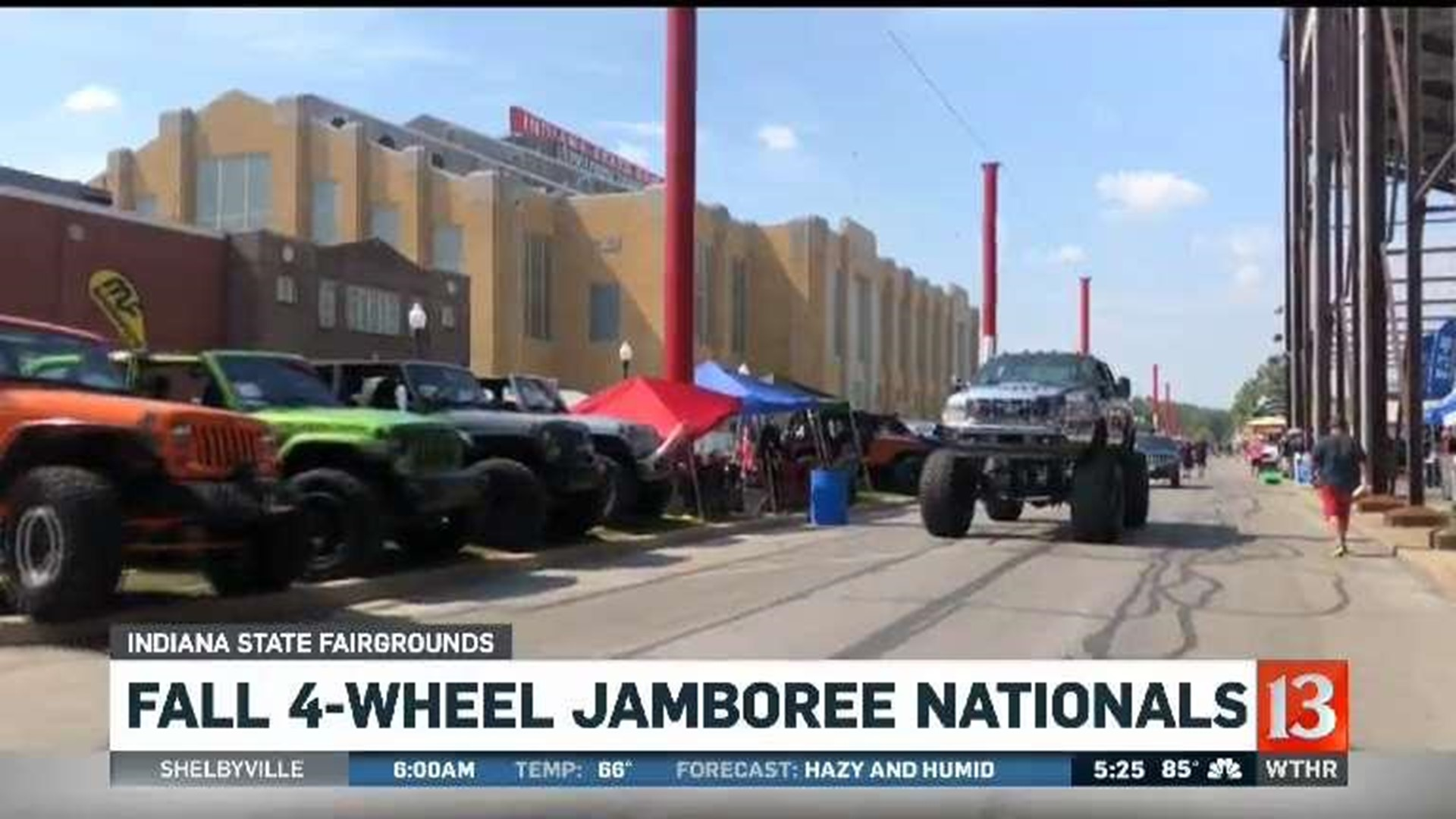 Indy S Four Wheel Jamboree Is Granddaddy Of Truck Events Wthr Com