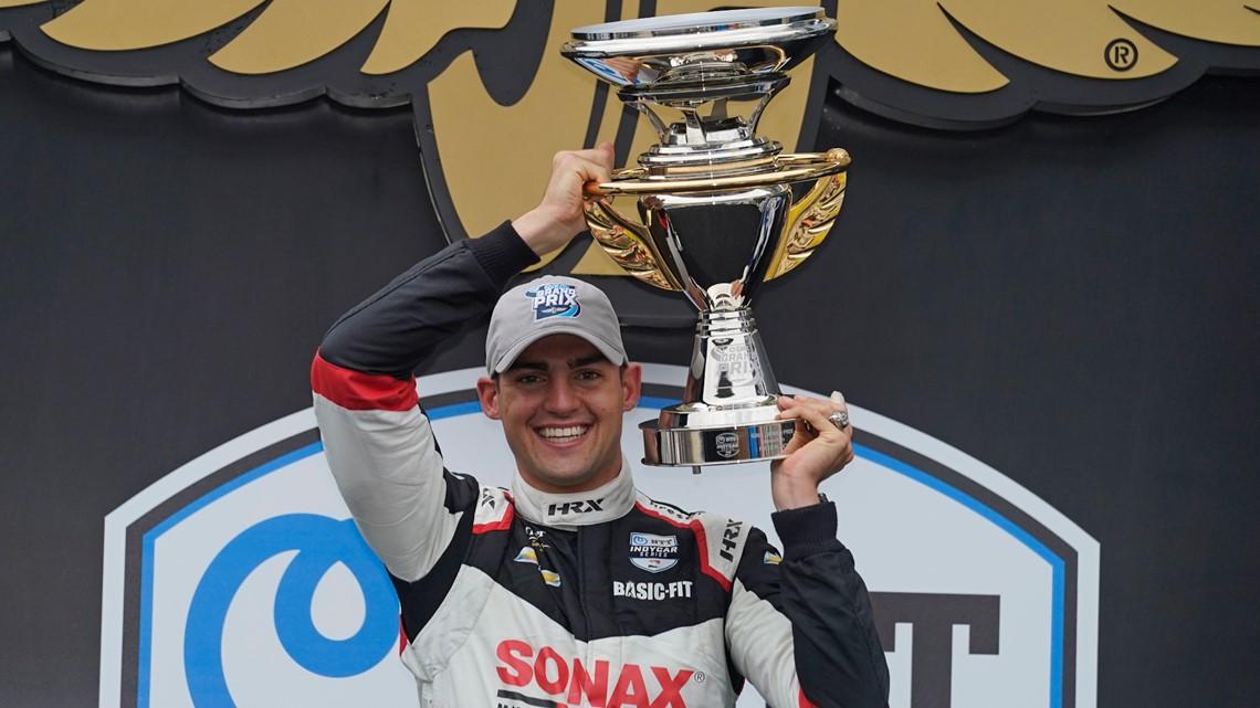 Rinus VeeKay wins IndyCar Grand Prix at IMS