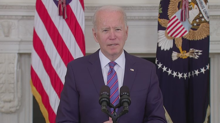 President Biden releases statement following Indianapolis FedEx mass shooting