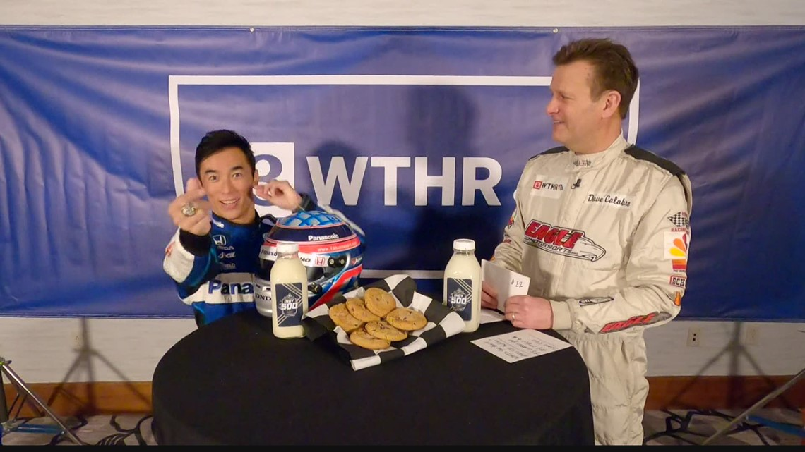 Milk and Cookies: IndyCar drivers burning calories, who they want to beat