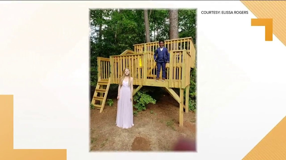 7-year-old takes babysitter to prom