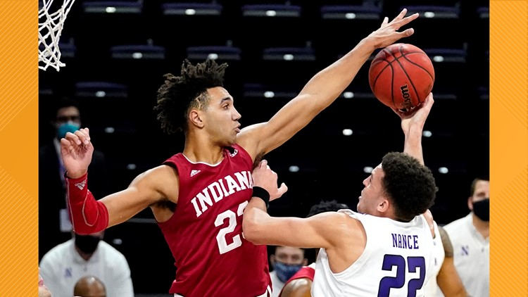Indiana hands Northwestern 10th straight loss, 79-76 in 2OT