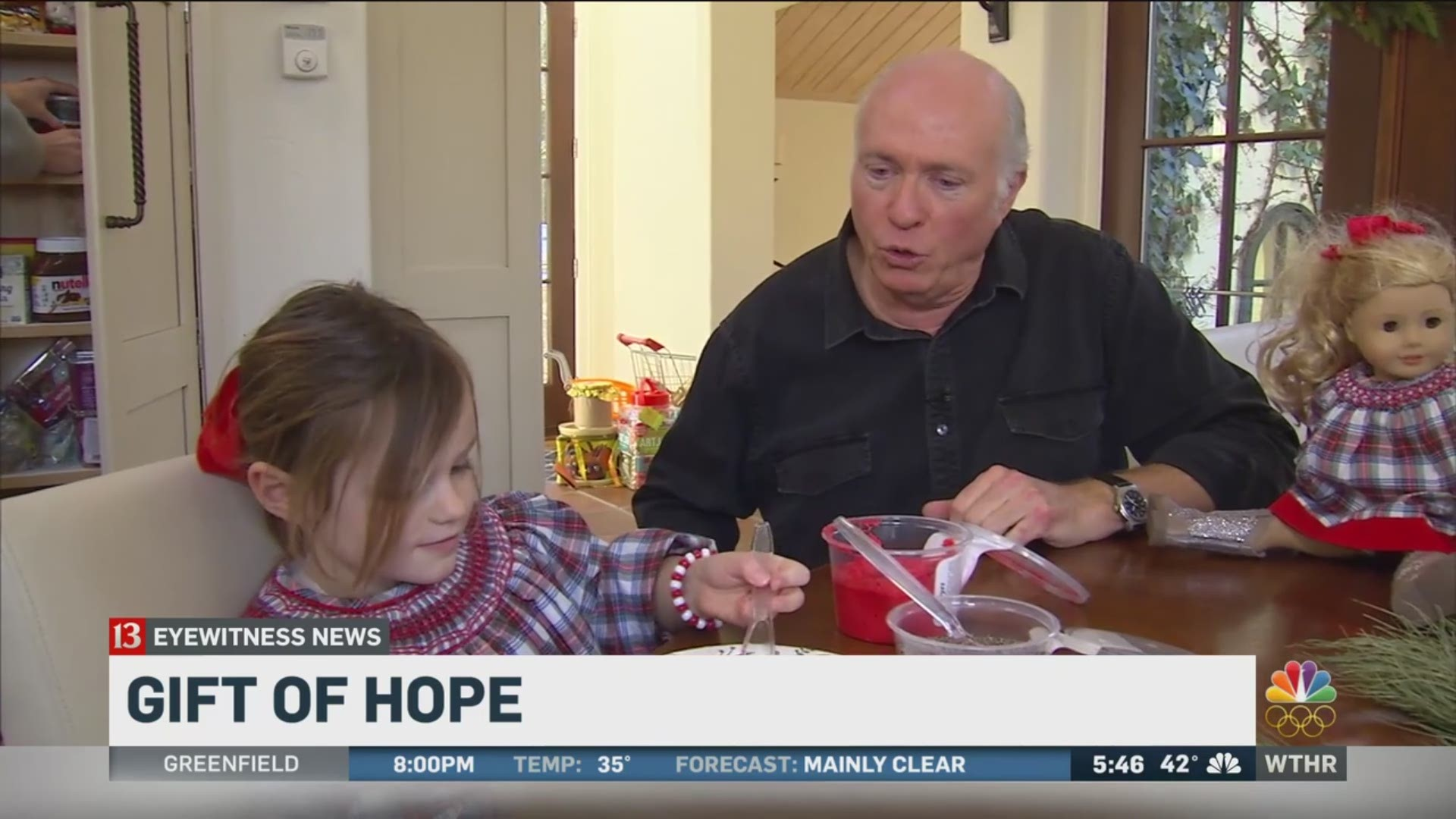 Bob Tom Show Host Grateful For Daughter S Miracle At Riley Hospital For Children Wthr Com