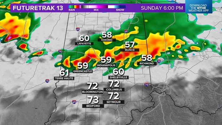 Live Doppler 13 Weather Blog: Heavy rain and severe storms possible Sunday
