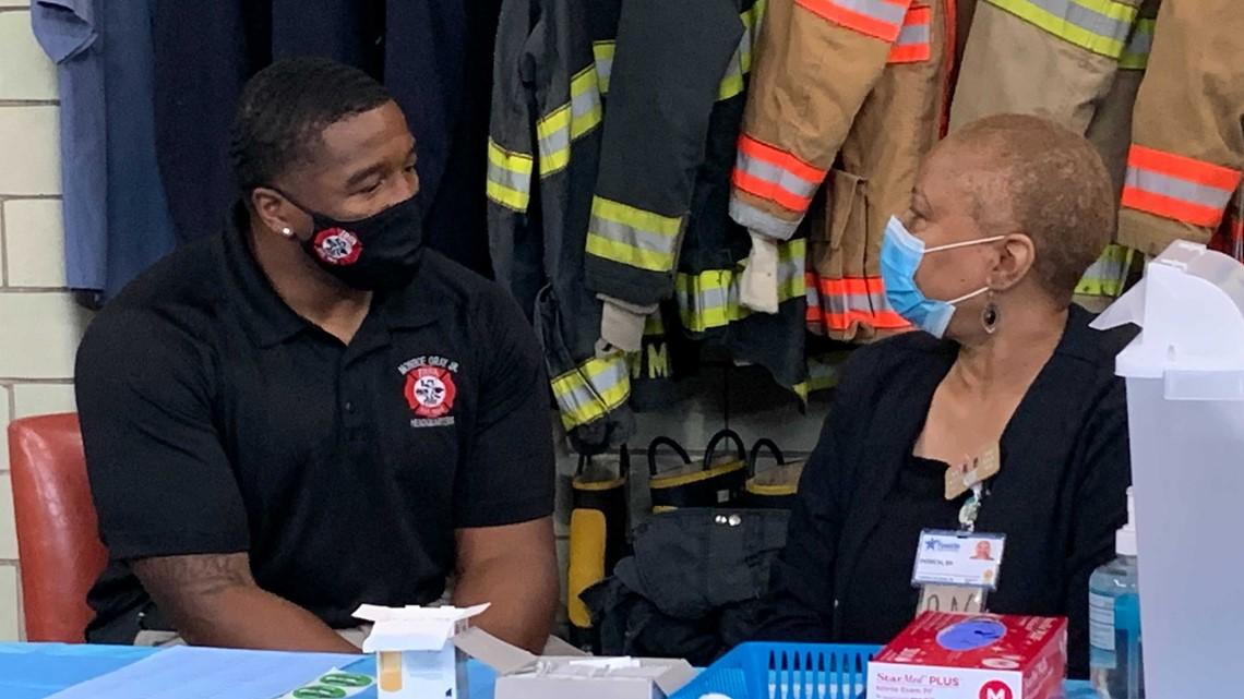 Black Firefighters Association hosting three vaccine clinics next week