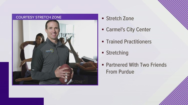 Drew Brees part owner of new Stretch Zone franchise opening in Carmel