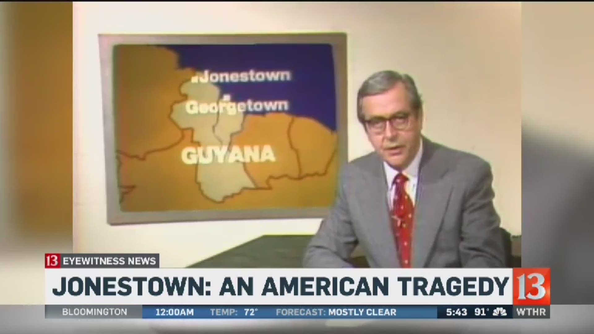 Dateline looks at the Jonestown massacre, the largest mass murder-suicide  in modern history   wthr.com