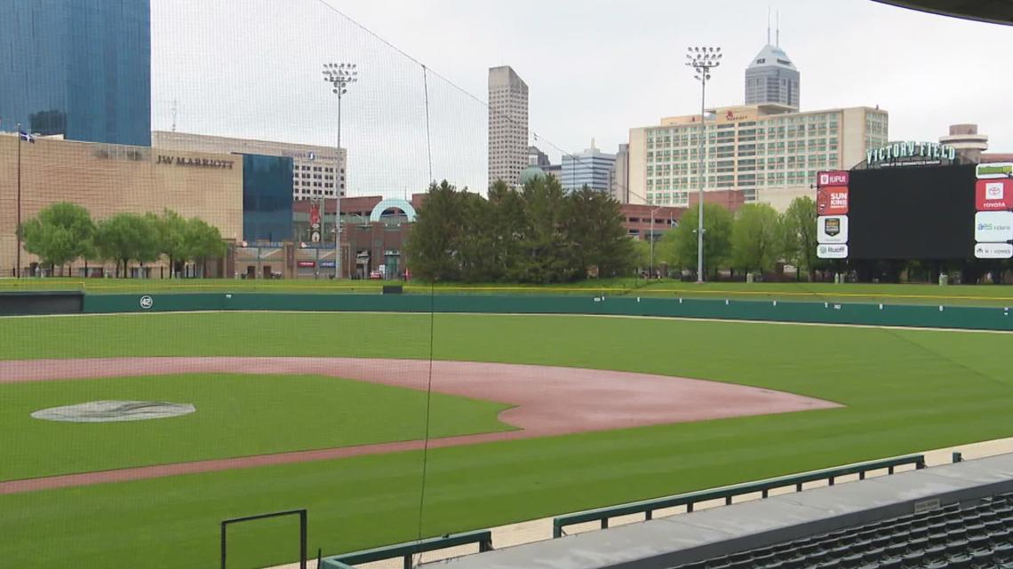 Indians add extra layer of protection for fans at Victory Field
