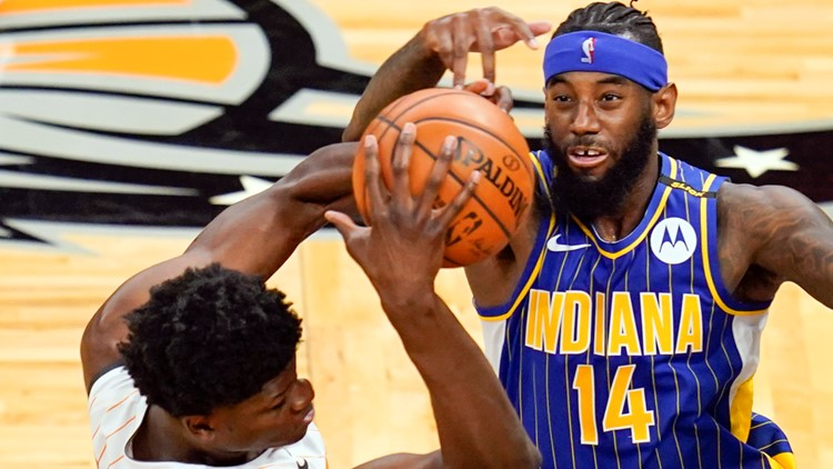 Pacers win third straight in Orlando 131-112