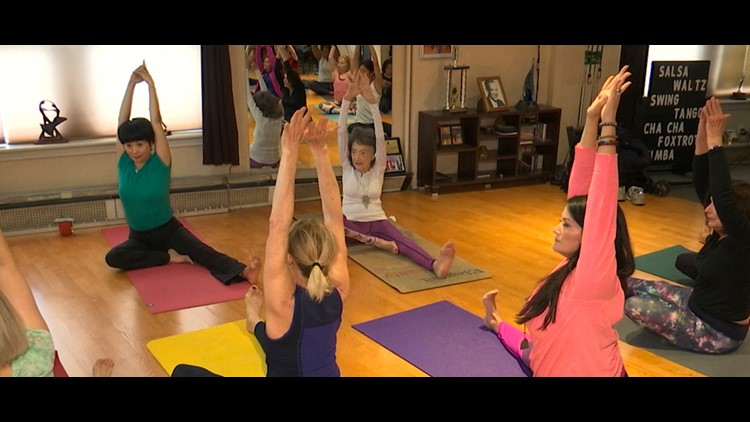 100 Year Old Yoga Instructor Keeps Moving Dancing Wthr Com