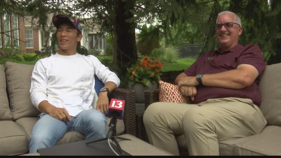 Indy 500 winner Takuma Sato is permanent houseguest in Carmel