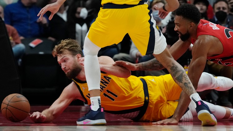 Pacers' road record now 0-3 after loss to Raptors