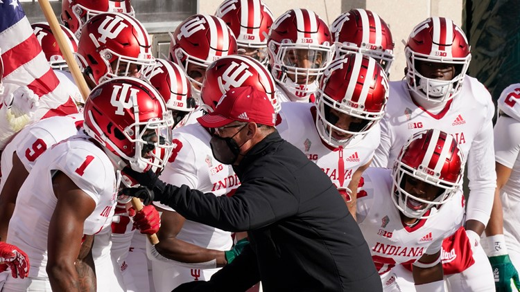 IU Football Coach Tom Allen named Big Ten Coach of the Year