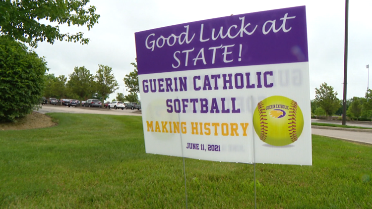 Guerin Catholic one win away from first state softball championship