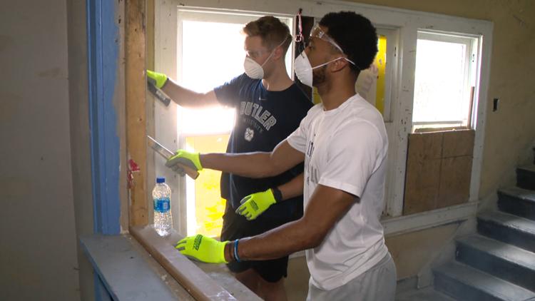 Demolition begins on renovation of former Indianapolis drug house