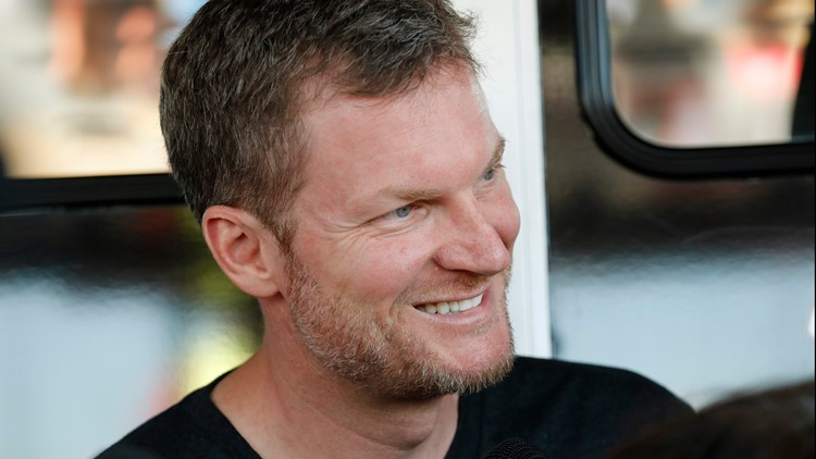 'We go to the race track?!': Dale Earnhardt Jr. surprises daughter with go-kart for 3rd birthday