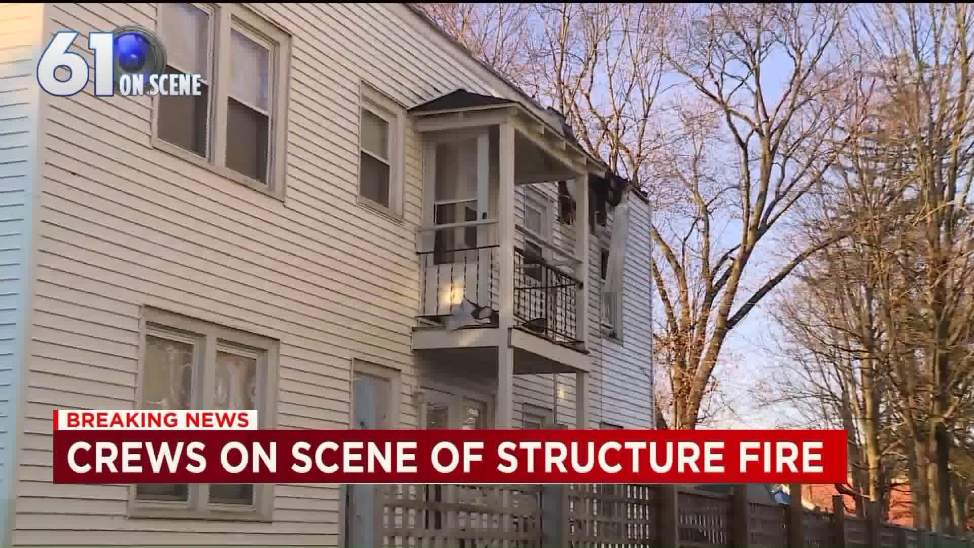 Fire crews respond to house fire in East Hartford | fox61.com