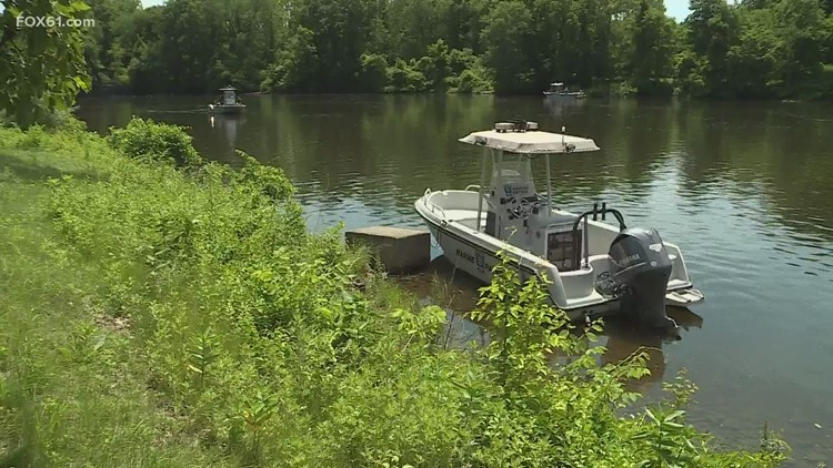 Searching for 2 men who fell in the Housatonic River