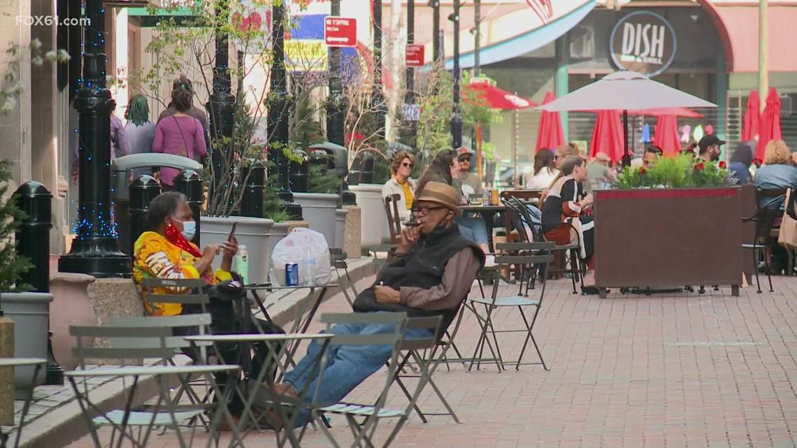 Outdoor shopping, baseball helping Hartford to get its beat back as pandemic wanes