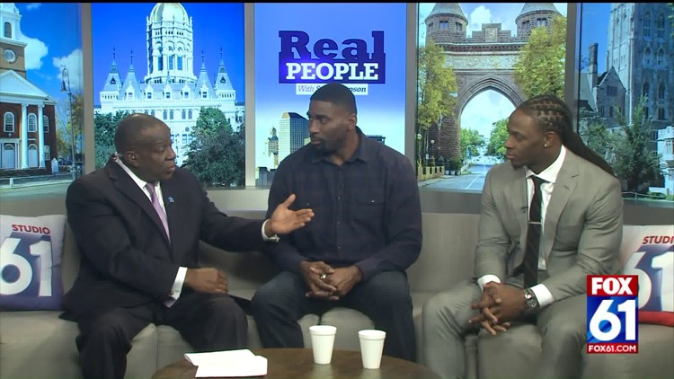 Real People with Stan Simpson: Two NFL players talk leadership, football, and the Super Bowl