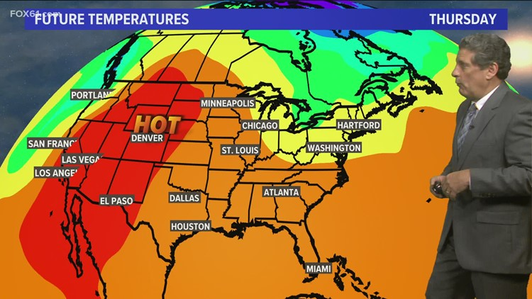 Less humid, better air quality Thursday