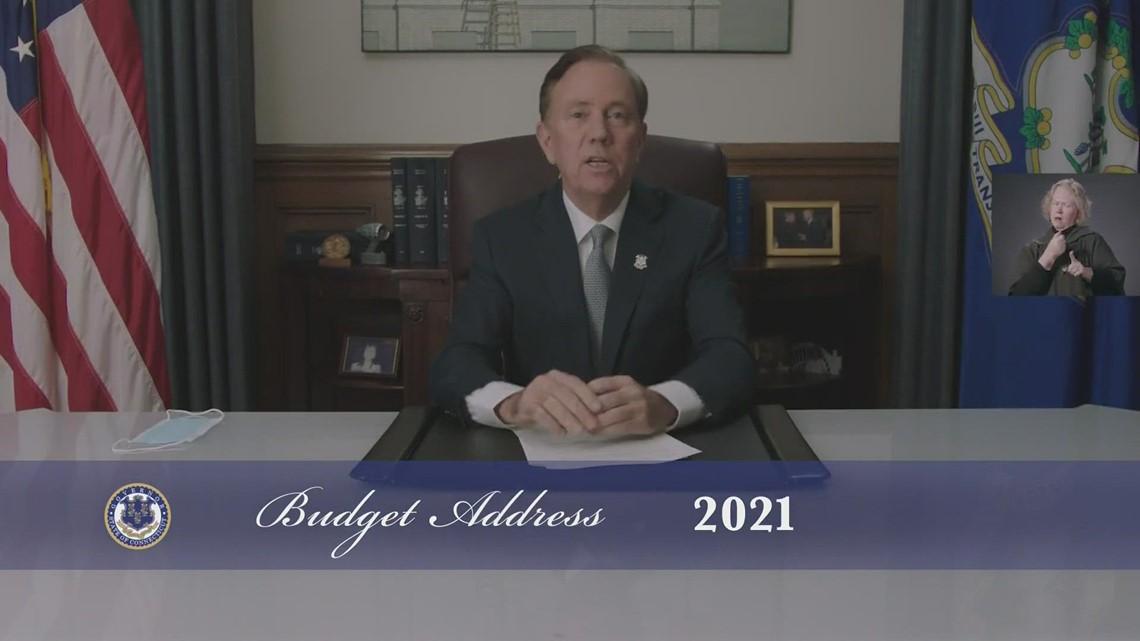 Watch Gov. Lamont's budget address