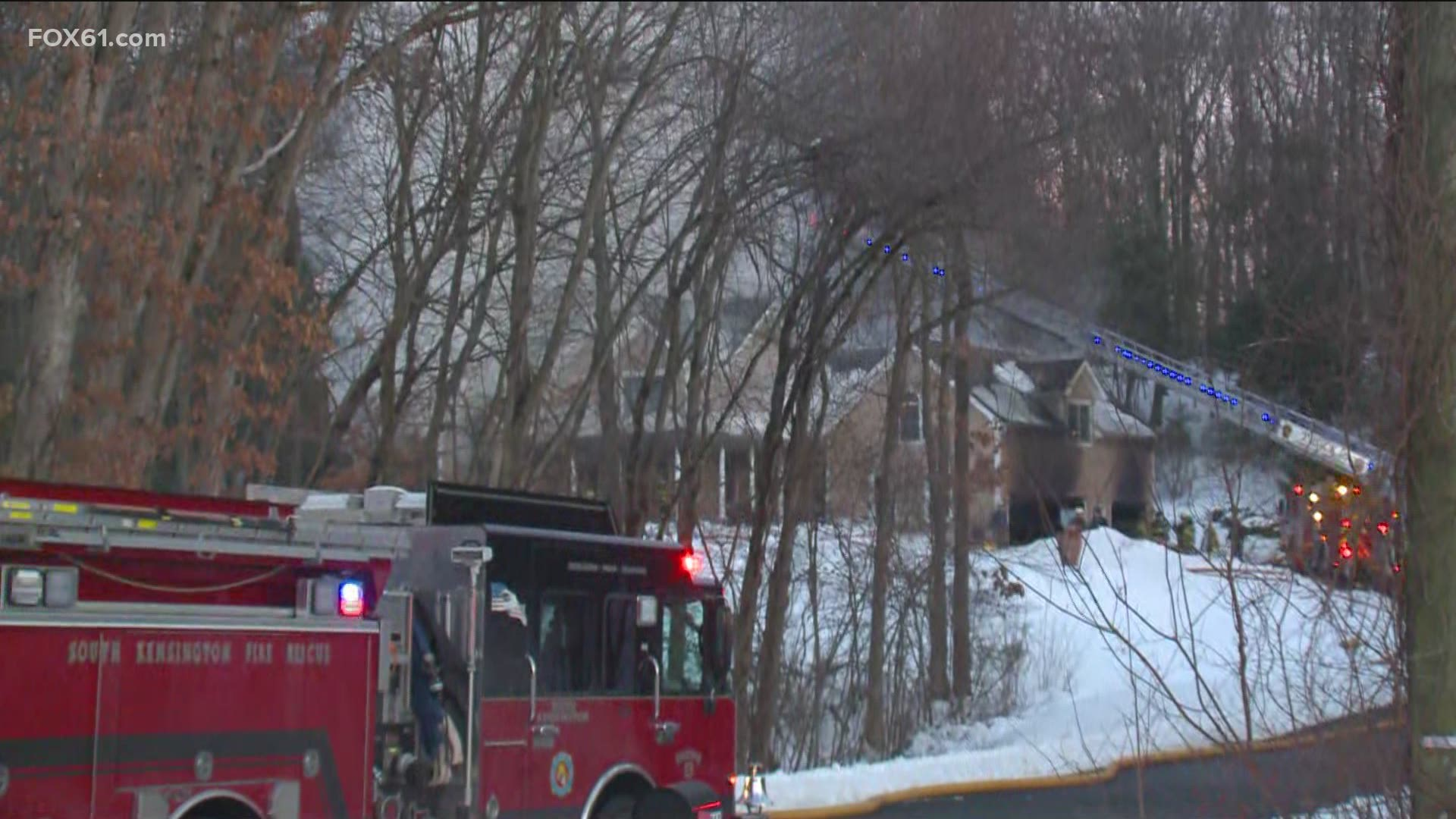 Firefighters responded to fire in Berlin