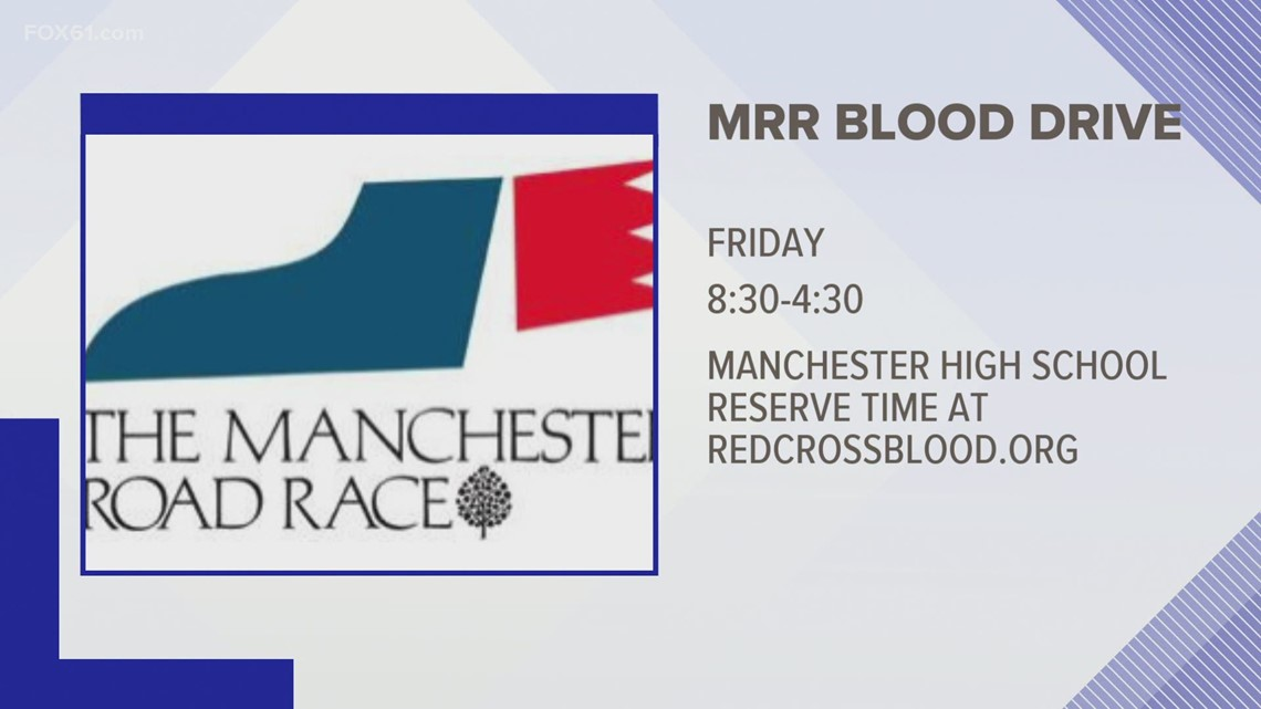 Manchester Road Road blood drive
