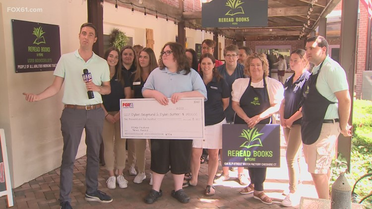 FOX61 Student News Awards presented to students in Hamden, Shelton