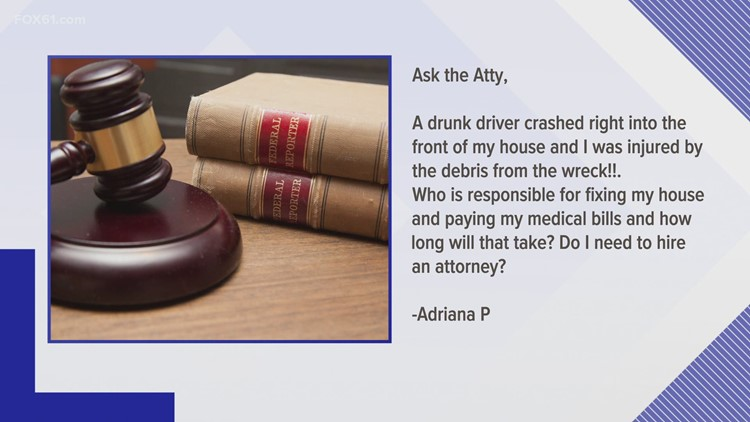Ask the Attorney: Drunk driver hits house