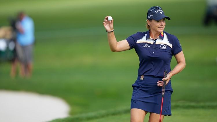 Annika Sorenstam takes 2-shot lead in US Senior Women's Open