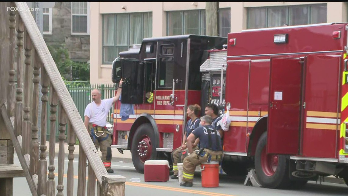 Fire, police on scene of incident in Willimantic