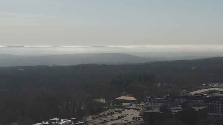 SKY61 over Storrs