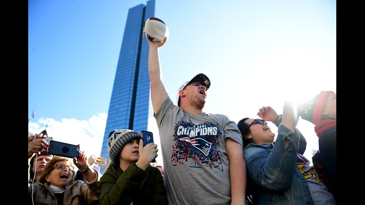 Flashback Friday: Huge crowds for Brady, Gronk Patriots Super Bowl win in 2019