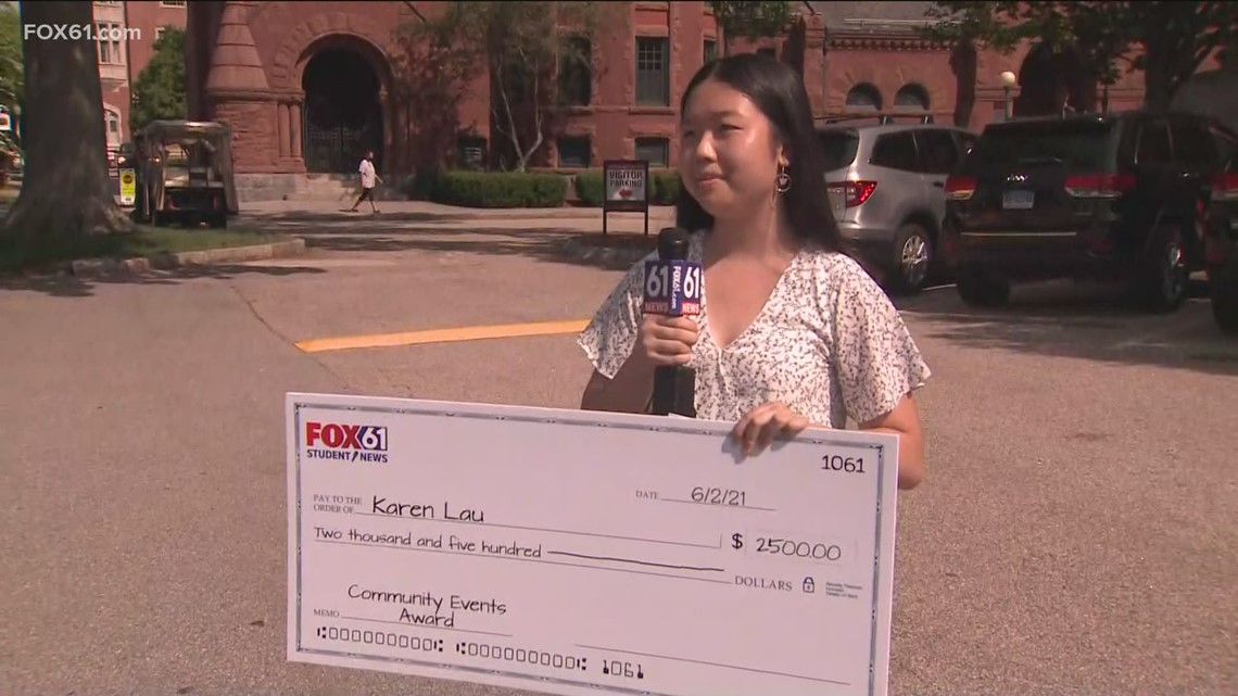 FOX61 Student News prize patrol hands out more than $10K in scholarship money