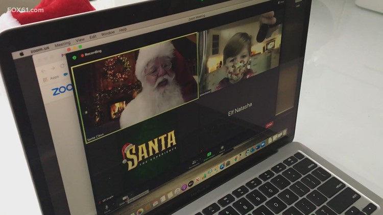 Family First: Hanging out with Virtual Santa