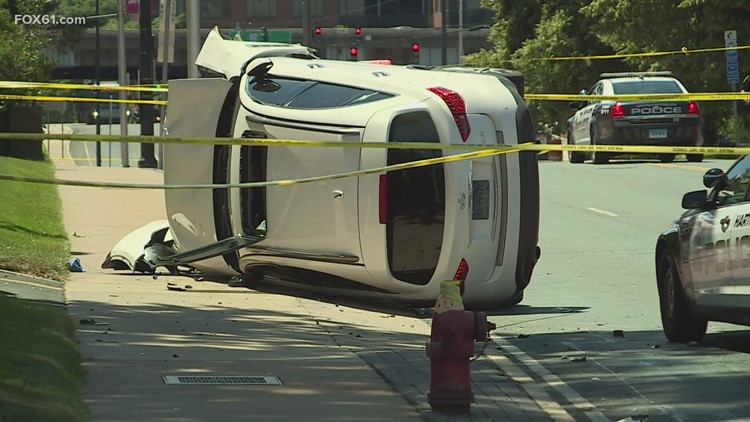 Two in custody after pursuit in connection with Hartford homicide