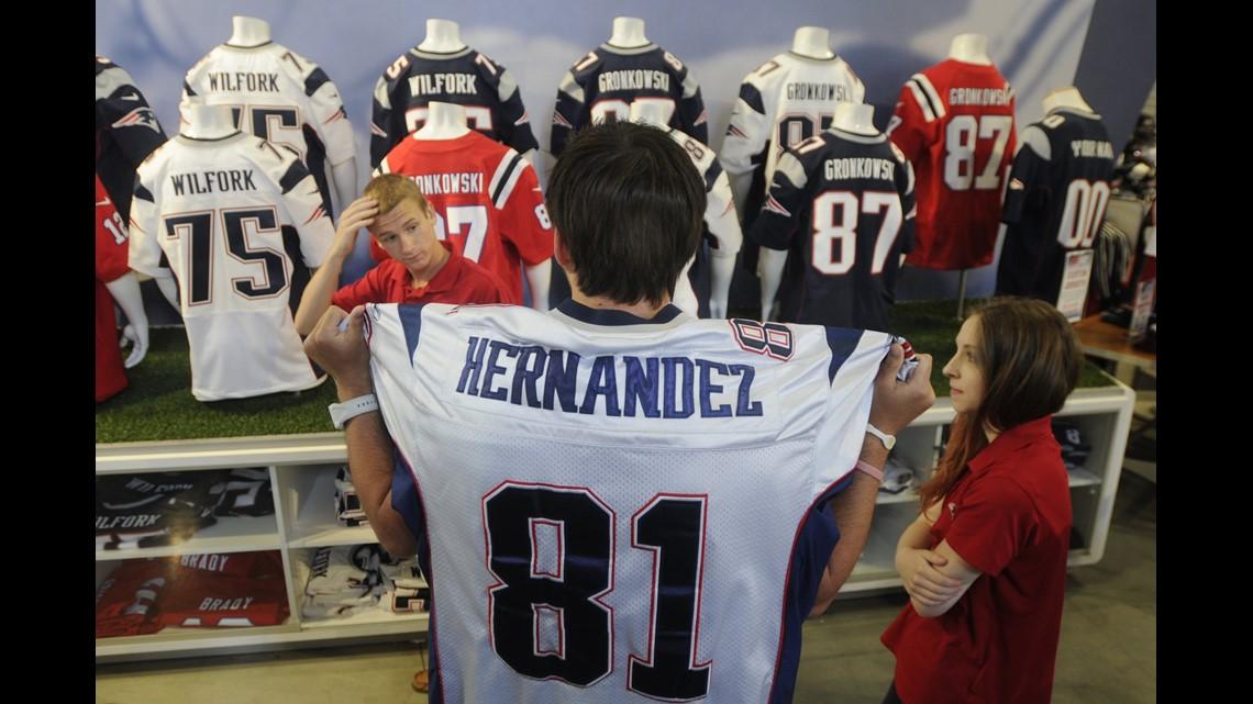 Aaron Hernandez Jersey Returns Brisk, Hundreds Exchanged On ...