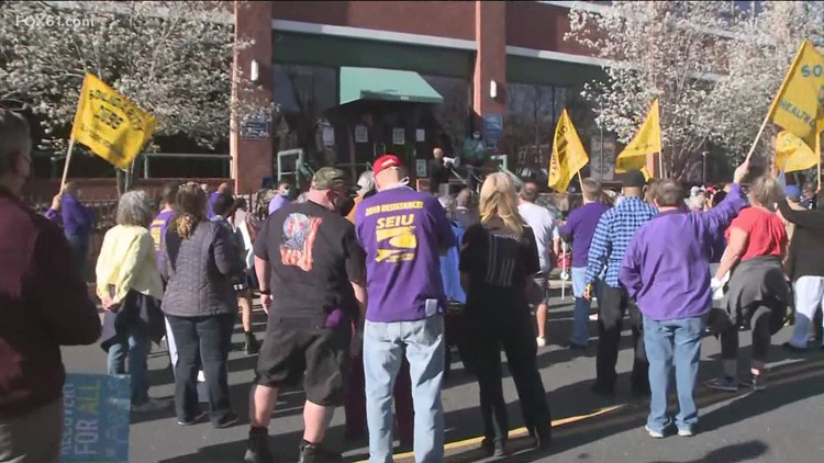 Connecticut nursing home workers prepare to go on strike May 14th