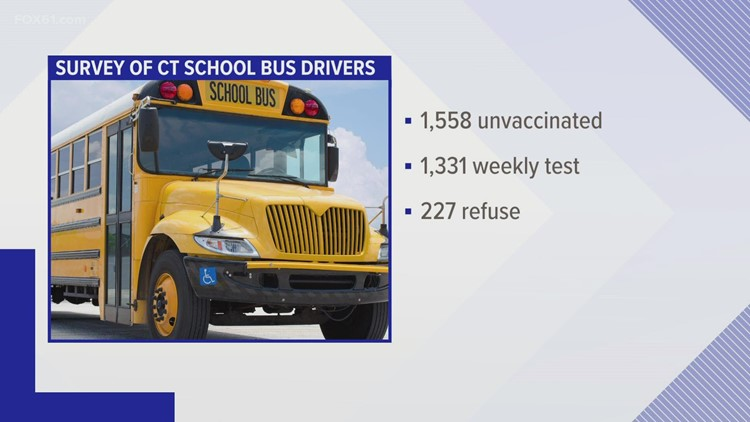 School bus drivers vaccine mandate issue