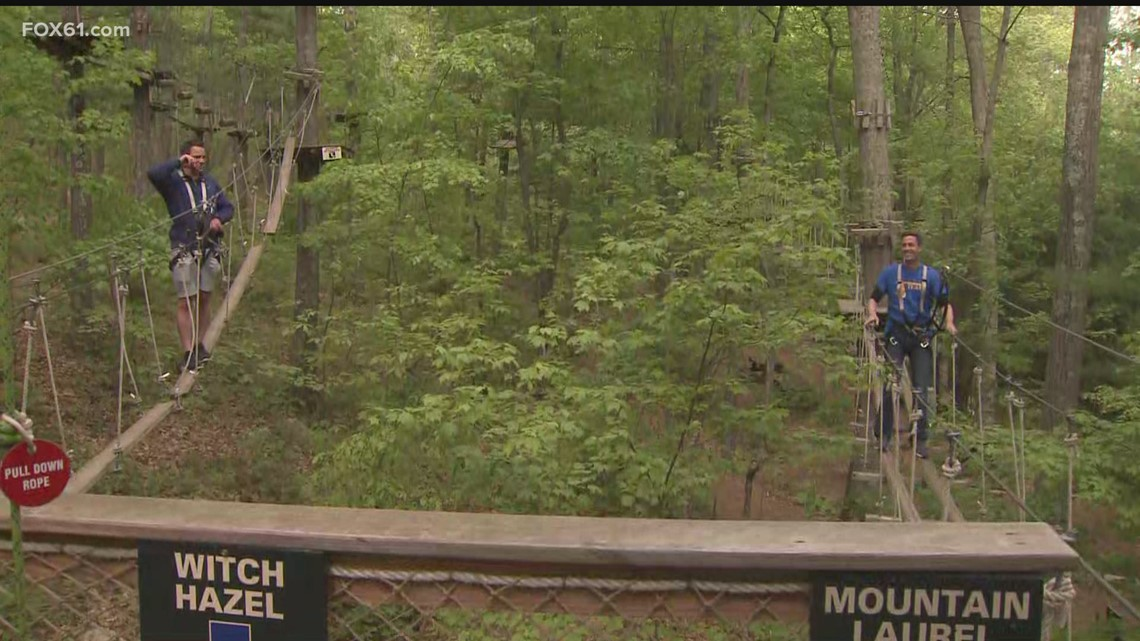 Day Trippers: The Adventure Park at Storrs