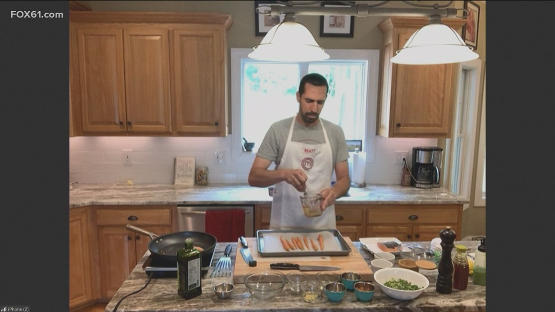 Meal House: Crispy skin salmon with miso ginger sauce with Matt Gagnon of Masterchef Legends