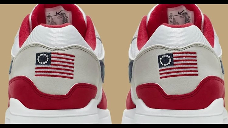Nike cancels shoe featuring Betsy Ross