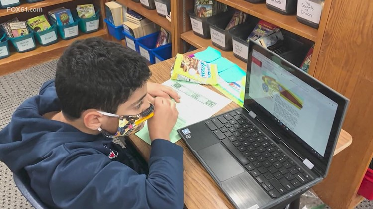 Study: Connecticut public school high school students learning remotely are struggling