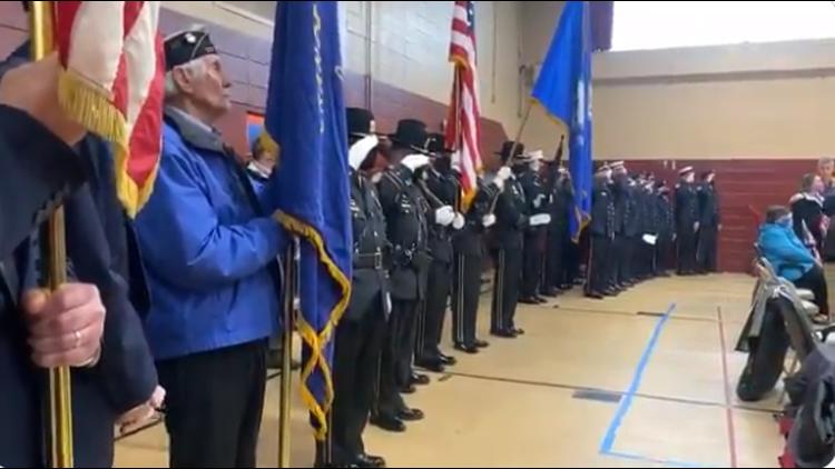 Orange community honors service members at Memorial Day Ceremony