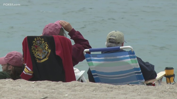 DEEP officials telling beachgoers to be careful at state parks with no lifeguards due to the shortage